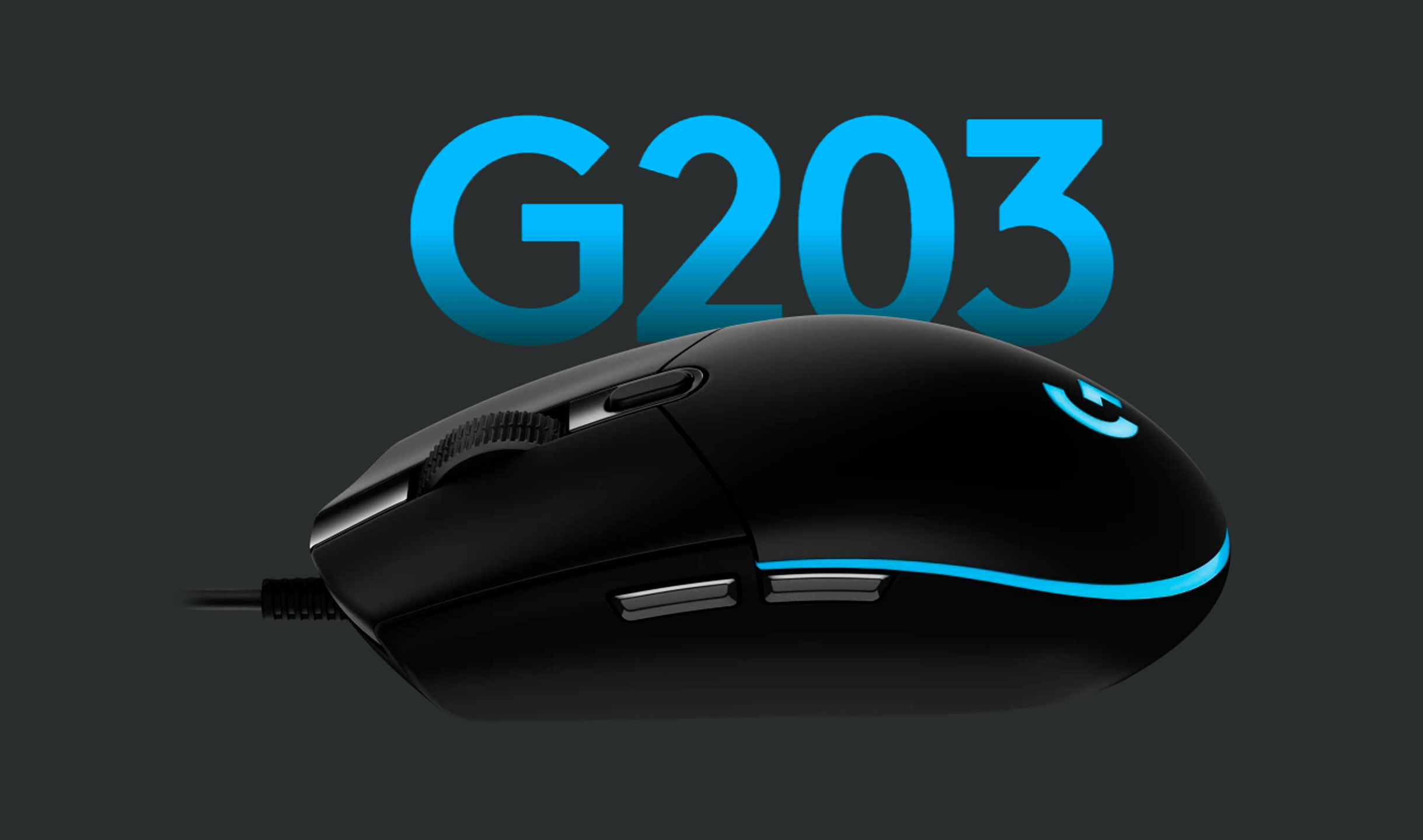 MOUSE LOGITECH PRODIGY G203 RGB