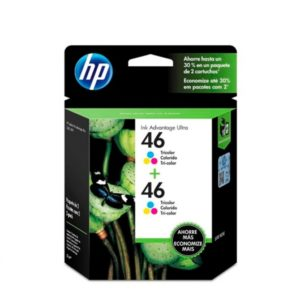 TINTA HP # 46 COLOR DUAL MOH59AL