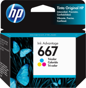 TINTA HP # 667 COLOR
