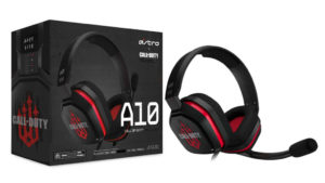 AUDIFONOS GAMING ASTRO A10 ROJO CALL OF DUTY