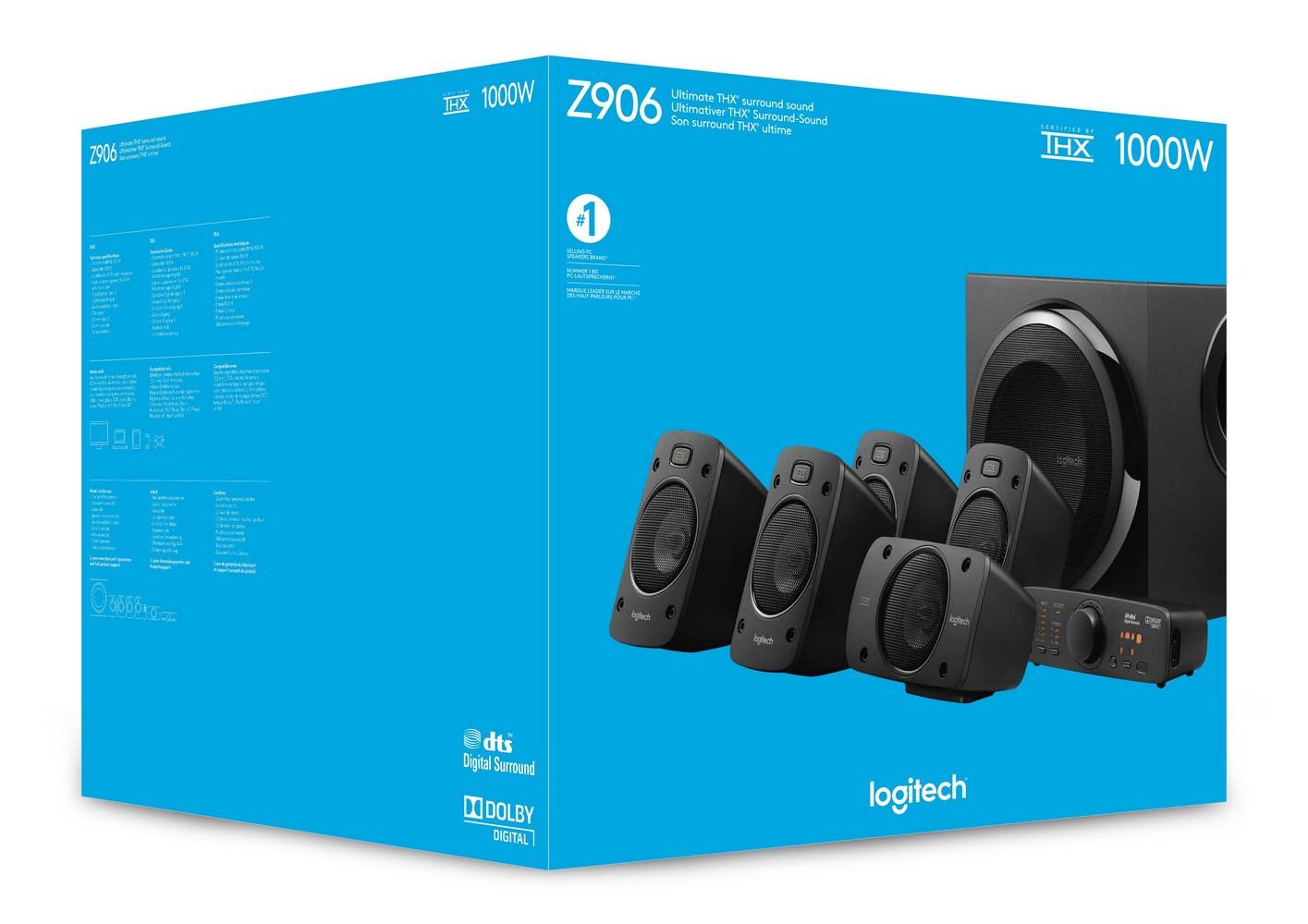 PARLANTES LOGITECH Z906 5.1